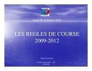 Règles 2009-2012