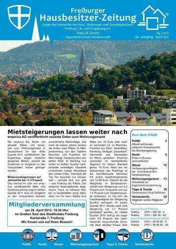 Hausbesitzer-Zeitung - Bender Werbe-GmbH