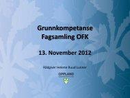 Grunnkompetanse - Oppland fylkeskommune