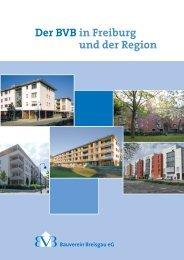 und der Region Der BVB in Freiburg - Bauverein Breisgau eG