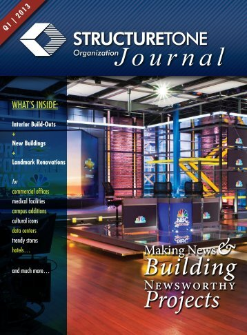 Read Journal - Structure Tone Inc.