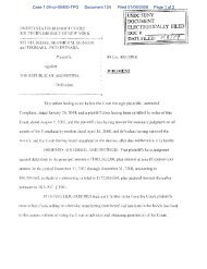 Case 1:04-cv-00400-TPG Document 124 Filed 01/09/2009 Page 1 of 2