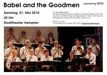 Babel and the Goodmen