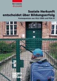 Soziale Herkunft entscheidet über Bildungserfolg - Bibliothek der ...