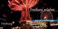 Freiburg erleben mit 46 Erlebnistipps - Stadt Freiburg im Breisgau