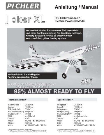 Joker XL manual - Pichler