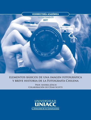 elementos básicos de una imagen fotográfica y breve ... - CREA