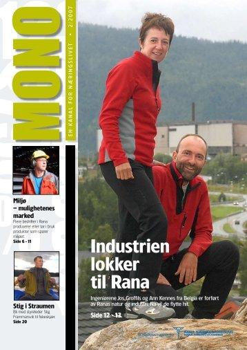 Industrien lokker til Rana - classic.vitaminw.no