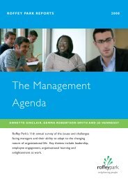 The Management Agenda - Management & Business Studies Portal ...