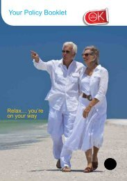 Your Policy Booklet - AllClear Travel Insurance