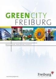 WEGE ZUR NACHHALTIGKEIT - FWTM - Stadt Freiburg im Breisgau
