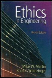 Ethics in Engineering - The Petroleum Institute