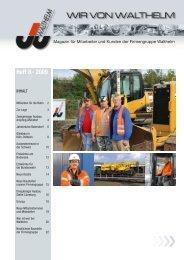Heft 8 · 2009 - Johann Walthelm GmbH
