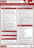 Germany B2C E-Commerce Report 2011 - yStats.com - Page 3