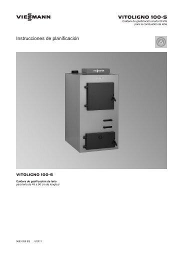 Instrucciones de planificación Vitoligno 100-S3.0 MB - Viessmann