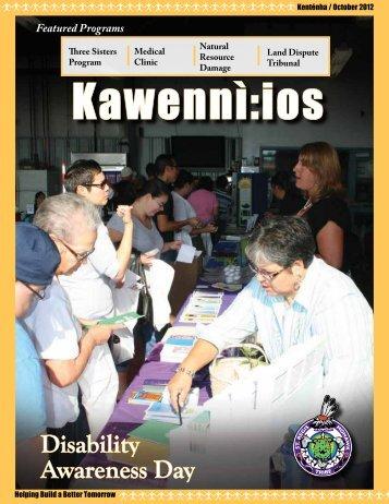 Kawennì:ios Newsletter - Kenténha / October 2012 - Saint Regis ...
