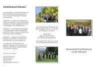 Familienbund Schweiz Schönstatt-Familienbund in der Schweiz