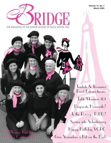 JLBR - The Bridge - March 2005 - Junior League of Boca Raton