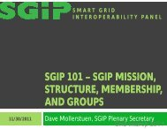 SGIP 101 – SGIP MISSION, SGIP MISSION, STRUCTURE, MEMBERSHIP, AND ...