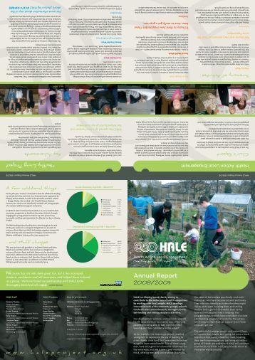 HALE's Annual Report 2008/2009 (PDF)