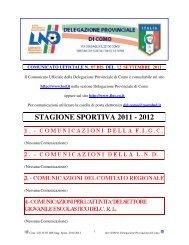 COMUNICATO n.07 BIS del 12/09/2011 - FIGC