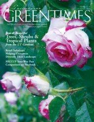 Trees, Shrubs & Tropical Plants