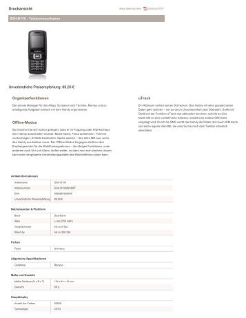 Samsung-B130-Technische-Daten.pdf herunterladen - Fonmarkt.de