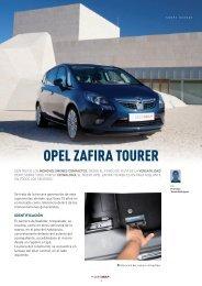 Opel Zafira Tourer - Revista Cesvimap