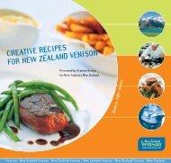 venison recipe brochure - Equise