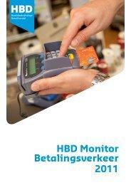 HBD Monitor Betalingsverkeer 2011 - Hoofdbedrijfschap Detailhandel