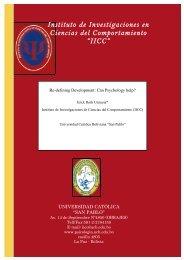 """Instituto de Investigaciones en Ciencias del Comportamiento """"IICC"""""""
