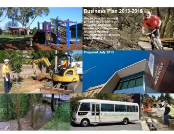 City of Mitcham Annual Business Plan 2013 2014