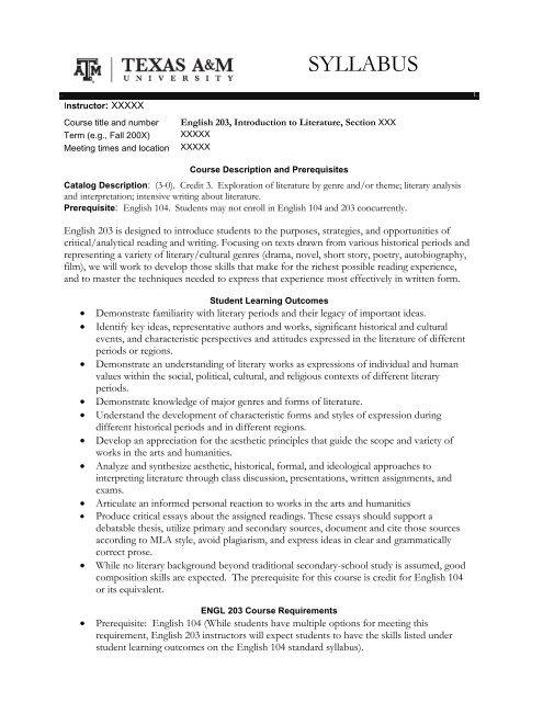 a&m essay requirements