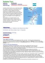 Schiffsfahrt Ushuaia-Antarktis mit Antarpply PDF - Reallatino Tours