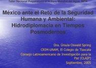 México ante el Reto de la Seguridad Humana y Ambiental ...
