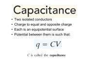 capacitors - Halachic Adventures
