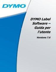 Capitolo 6 Uso della stampante LabelWriter con altre ... - DYMO