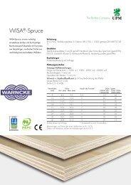 WISA®-Spruce - WISA® plywood and veneer