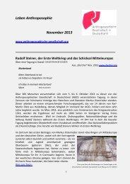 Leben Anthroposophie November 2013 - Anthroposophische ...