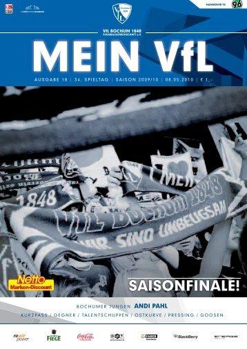Mein VfL Heft18 web.ps, page 1-60 @ Normalize - VfL Bochum