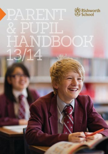 Parent & Pupil handbook - Rishworth School