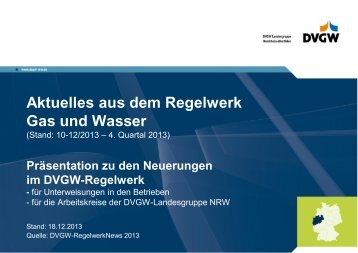 4. Quartal 2013 - dvgw-nrw.de