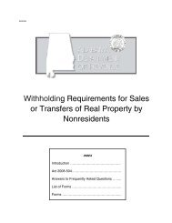 Withholding Requirements for Sales or Transfers of Real Property by ...