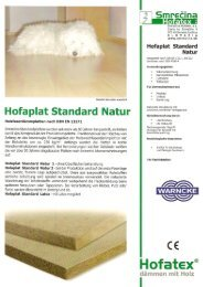 Hofaplast Standard Natur