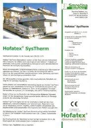 Hofatex SysTherm