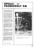 Frisbari 4/1984 - Ultimate.fi - Page 5