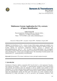 Multisensor System Application for CO 2 - International Frequency ...