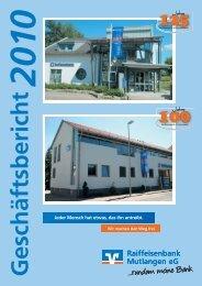 Geschäftsbericht 2010 (PDF | 2,3 MB) - Fiducia IT AG