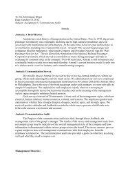 Amtrak Survey Paper - Temple Fox MIS