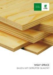 WISA-Spruce Handbuch - WISA® plywood and veneer